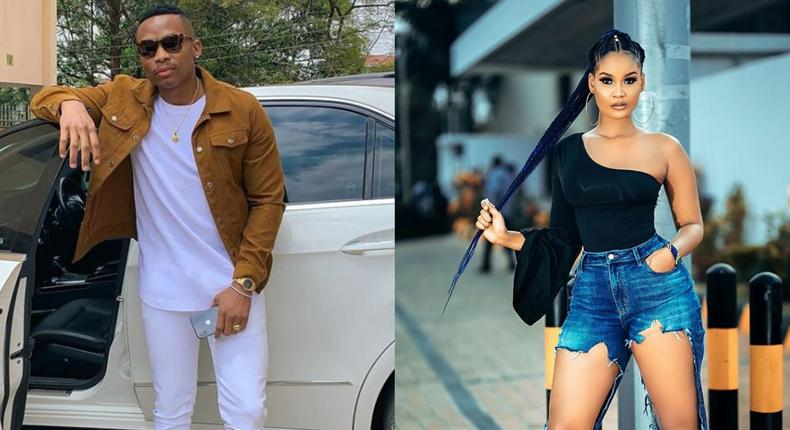 You are always running after Diamond's leftovers – fan attacks Otile Brown after calling Hamisa 'Baby'