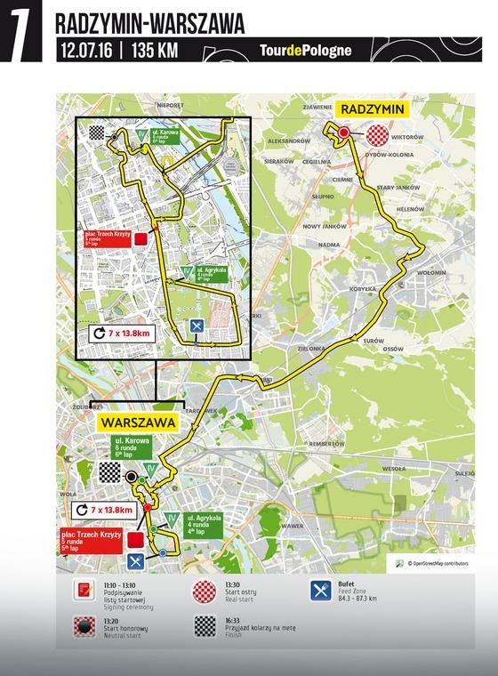 1. etap - mapa