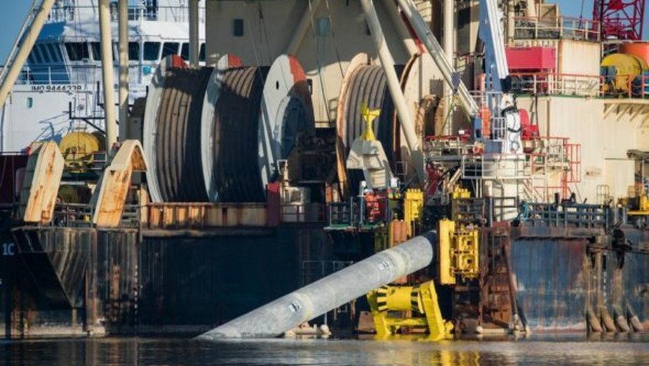 Budowa gazociągu. Fot. Nord Stream 2