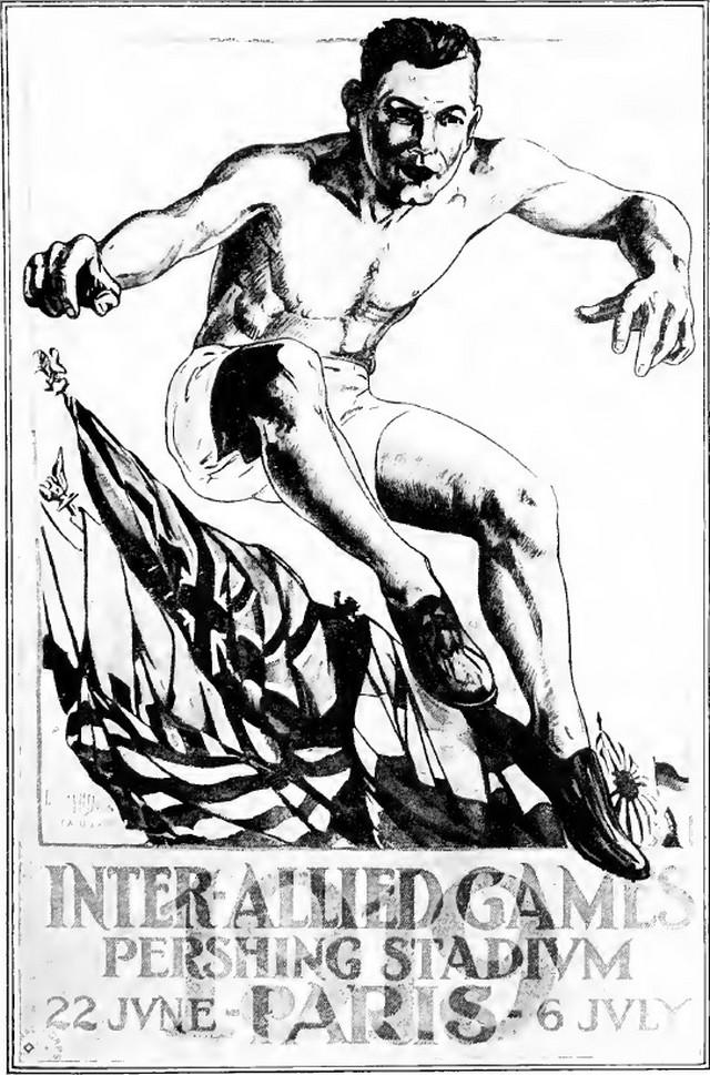 Savezničke igre - plakat iz 1919.