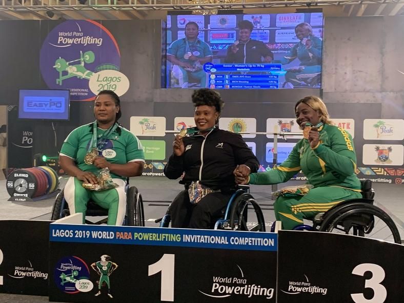 The World Para Powerlifting Championships was held in Nigeria   [Nigeria para powerlifting ]