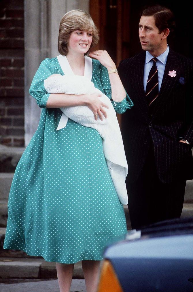 22. jun 1982. godine princeza Dajana sa sinom Vilijamom