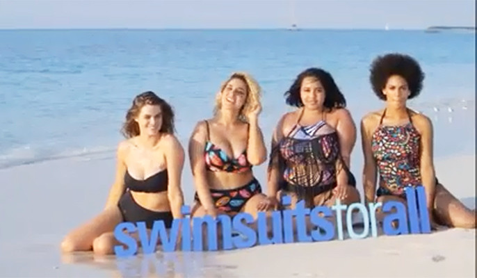 Youtube / Swimsuits for all