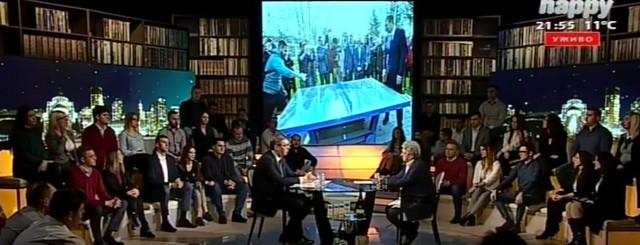 "Vučić u emisiji ""Ćirilica"""
