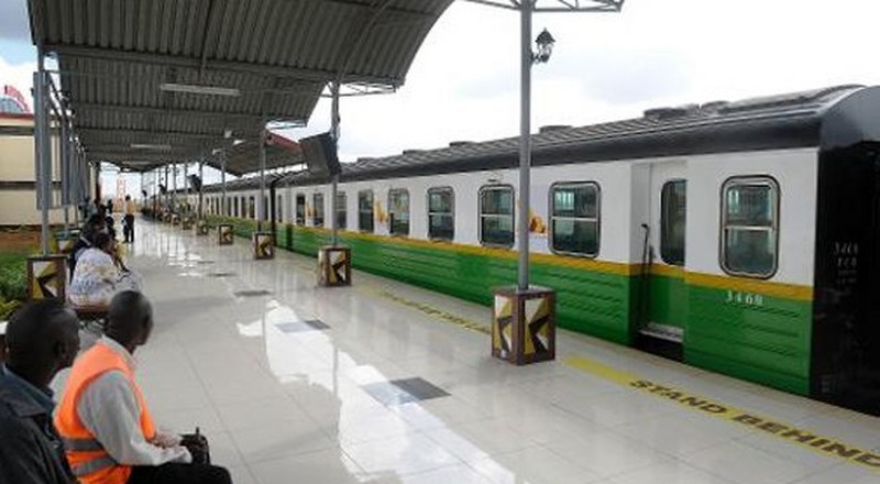 Commuter train service launched for Kitengela
