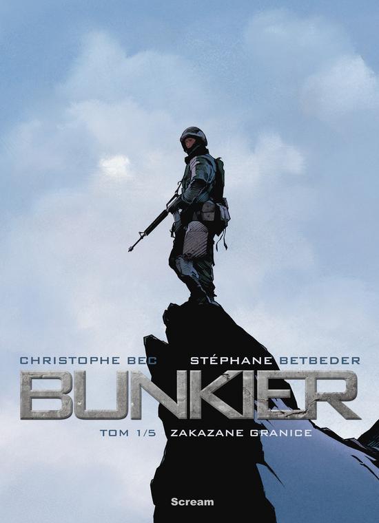 """""""Bunkier. Zakazane granice"""" (okładka)"""