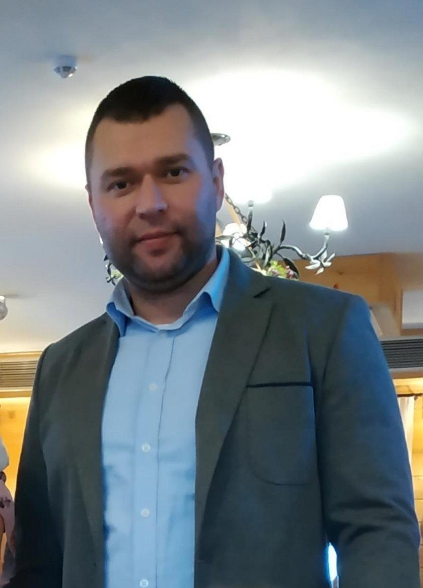 Łukasz Czarnecki, właściciel kantoru: