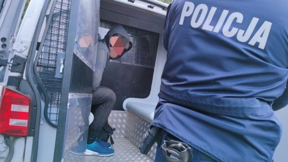 Afgańczyk i Pakistańczyk zatrzymani w Piasku