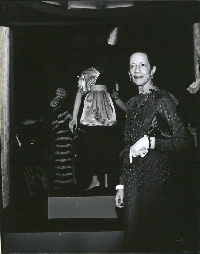 Prijatelji Dajane Vrilend bili su Koko Šanel, vojvotinja Volis Simpson, Džek Nikolson