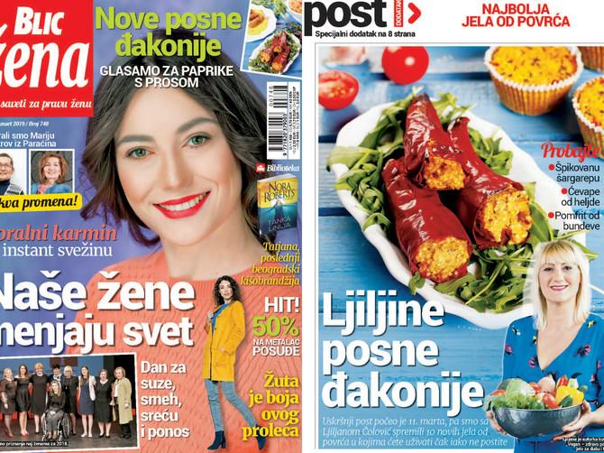 """U novoj """"Blic ženi"""" najbolja jela od povrća: Delimo i kupon za UPOLA JEFTINIJE POSUĐE!"""