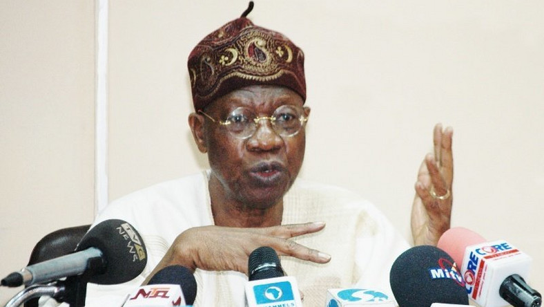 Lai Mohammed- Minister of Information and Culture