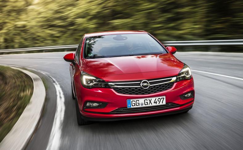 Opel astra - auto jest produkowane w Gliwicach