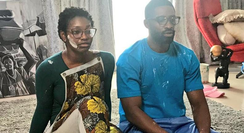 Immaculata Oko-Kasum and Ric Hassani in new web series [Twitter]