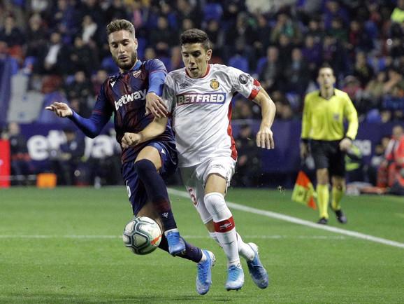 Detalj sa utakmice Levante - Majorka