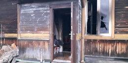 Pożar baraku socjalnego. Jedna osoba nie żyje, 6 dzieci w szpitalu