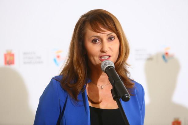 Renata Kaznowska, powołana na stanowisko wiceprezydenta Warszawy