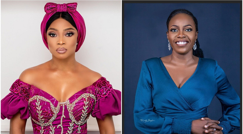 Shade Ladipo shades Toke Makinwa over tweets on people filming acts of charity, says she recorded giving her personal assistant a car