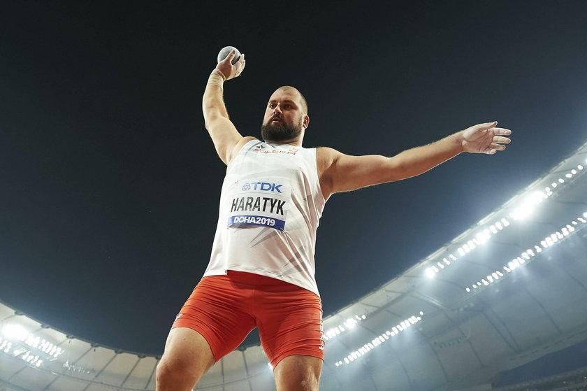 Nie tak wyobrażał sobie końcówkę tego sezonu Michał Haratyk (27 l.).