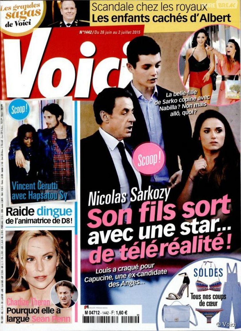 Francuski tygodnik Voici publikuje zdjęcia pary