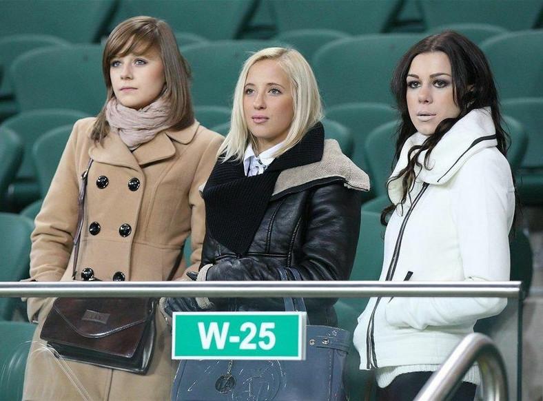 Dziewczyny młodych piłkarzy Legii