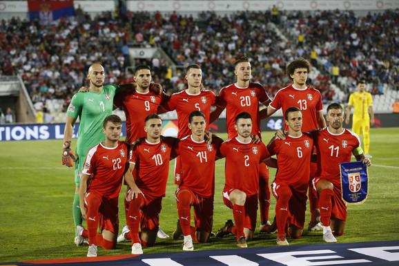 Fudbalska reprezentacija Srbije pred meč sa Rumunijom