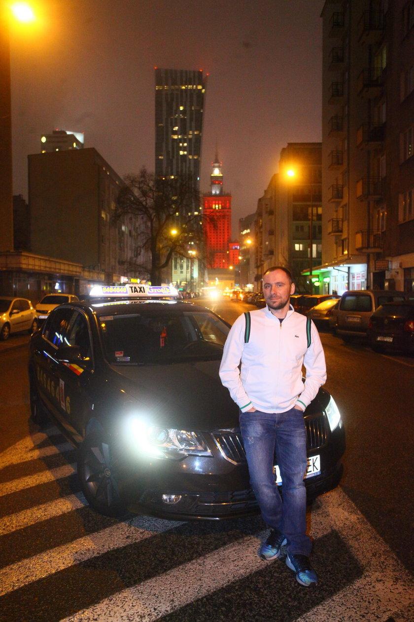 Warszawski taksówkarz: Muszę być księdzem i niańką