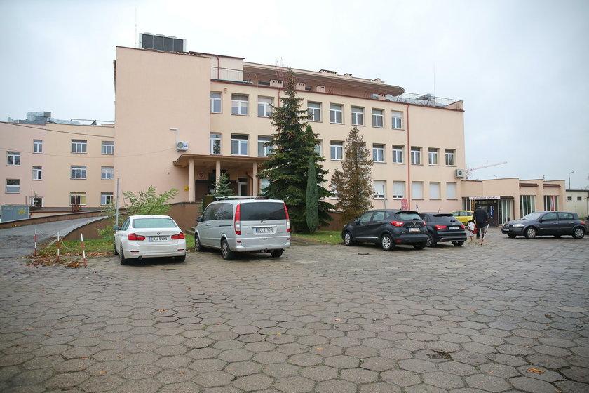 Mężczyzna podpalił się na Izbie Przyjęć szpitala w Łowiczu