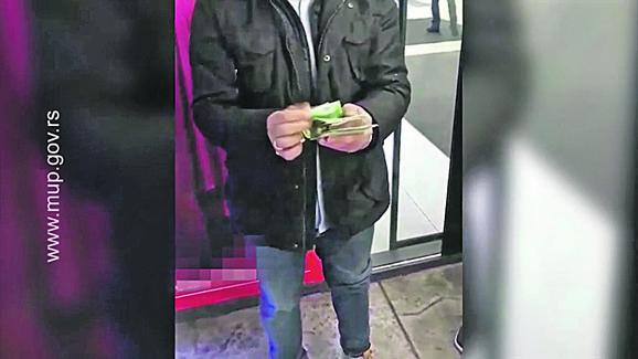 Spajić je uhapšen sa novcem u rukama - 4.000 evra mita