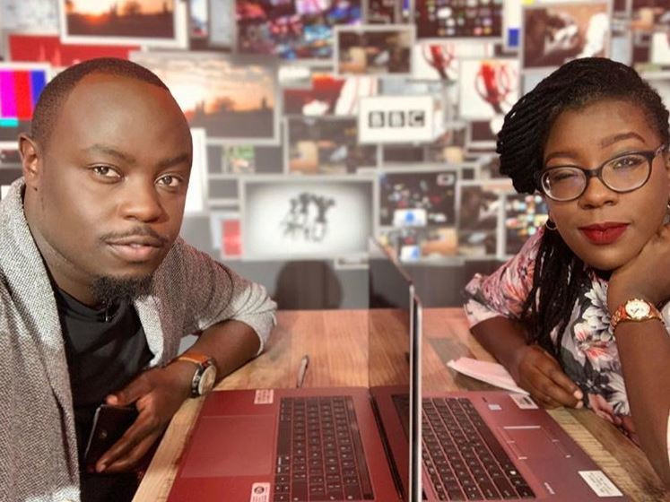 BBC's Ian Wafula and Ciru Muriuki. Ciru Muriuki opens up about the struggle she has been going through lately