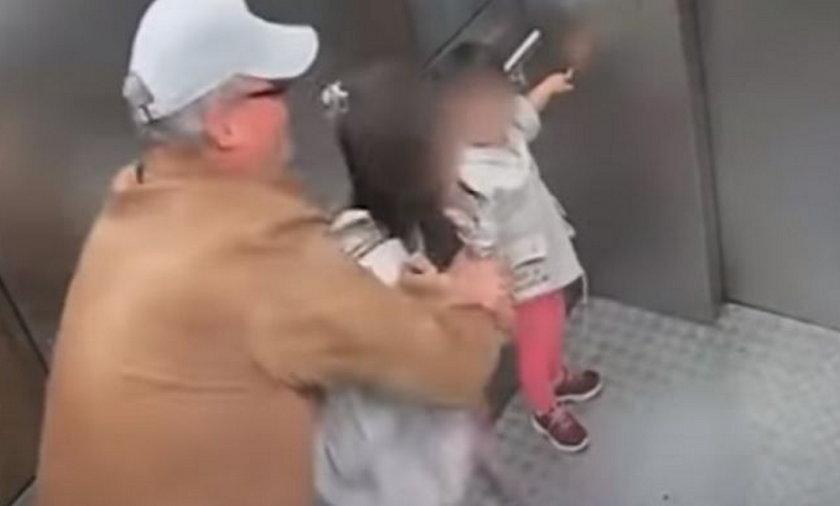 Mężczyzna napastował 13-latkę w windzie.