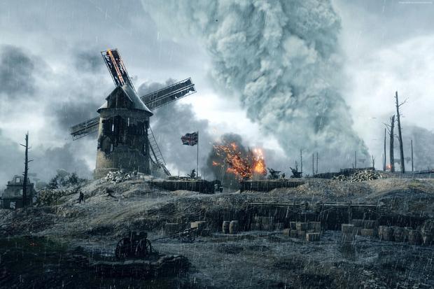 Battlefield 1 - tak wygląda 16 lat rozwoju grafiki komputerowej na dwóch obrazkach