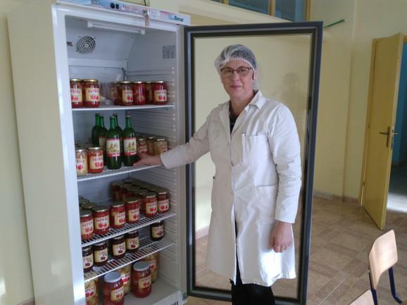 Profesorka Suzana Mršić