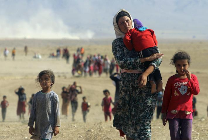 IRAQ-SECURITY/YAZIDIS-KILLINGS