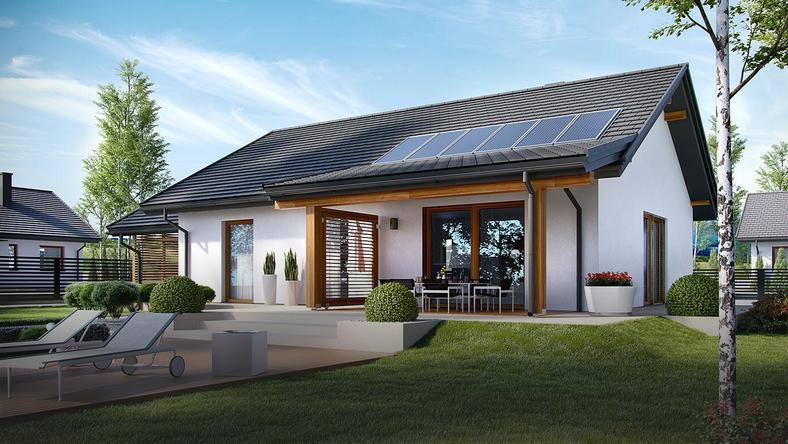 Chłodny Domy tanie w budowie – 10 gotowych projektów z kosztorysem - Dom VW44