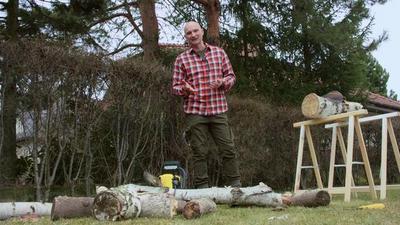 Świetny patent - odc. 4 - Przygotowanie drewna na zimę