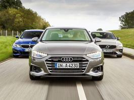 Audi A4 kontra BMW serii 3 i Volvo S60 - tym jeździ biznes