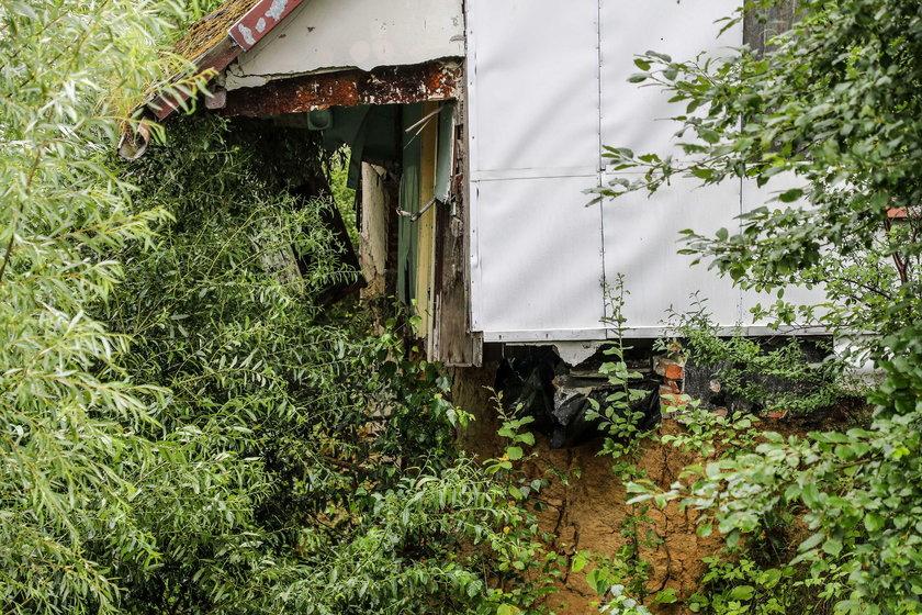 Osuwisko zagraża mieszkańcom Bochni