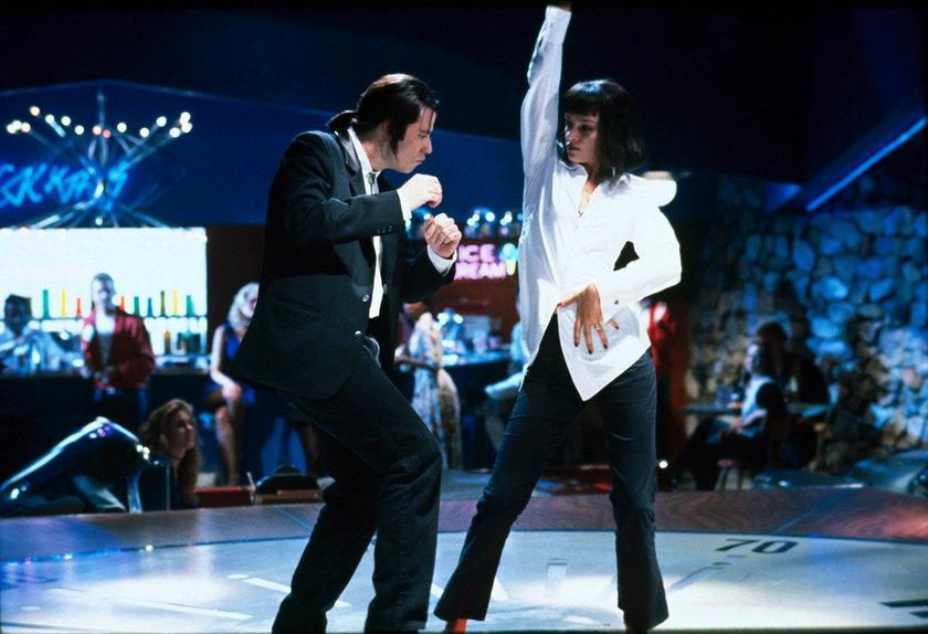 John Travolta i Uma Thurman tańczą Pulp Fiction