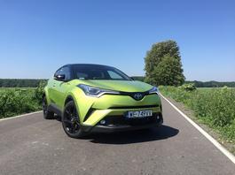 Toyota C-HR Neon Lime – więcej się nie da | TEST