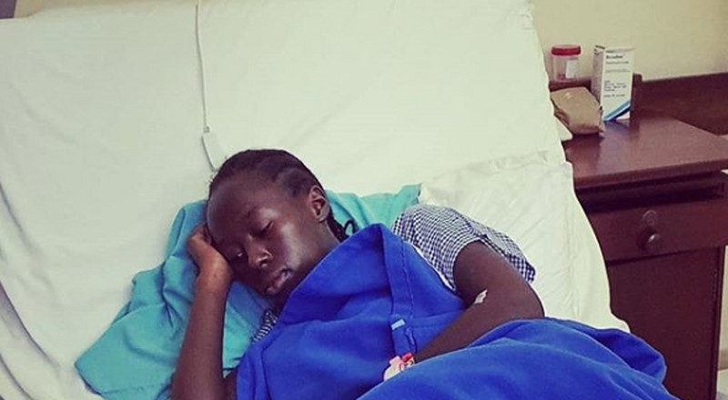 Akothee's daughter hospitalized, undergoes surgery
