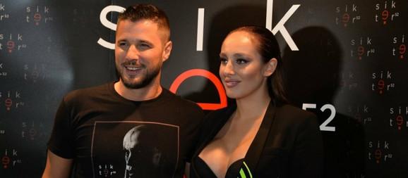 Marko Miljković i Luna Đogani