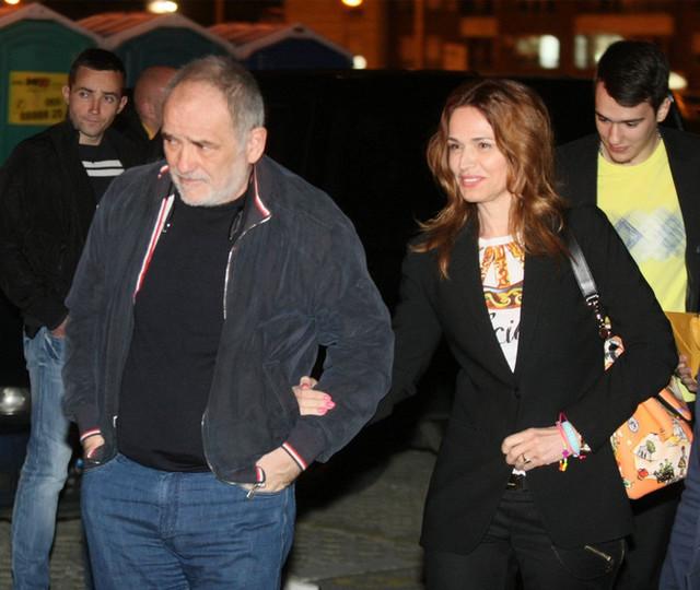 Balašević sa suprugom Oliverom kojoj je posvetio brojne pesme, među kojima je najpoznatija ona baš pod njenim imenom