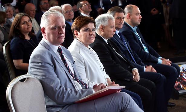 Minister nauki i szkolnictwa wyższego Jarosław Gowin, PAP/Rafał Guz
