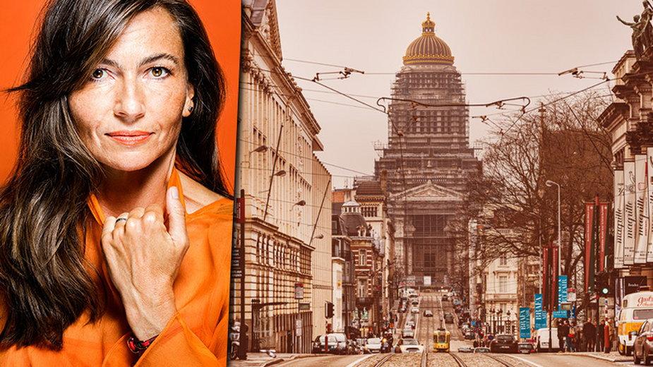 """Najnowsza książka pisarki Grażyny Plebanek - """"Bruksela. Zwierzęcość w mieście"""""""