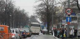 Mróz sparaliżował Wrocław