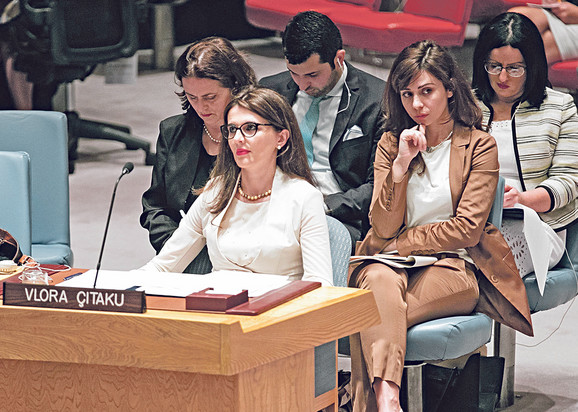 Čitaku, ambasadorka Prištine u UN, za susret saznala tek dan ranije