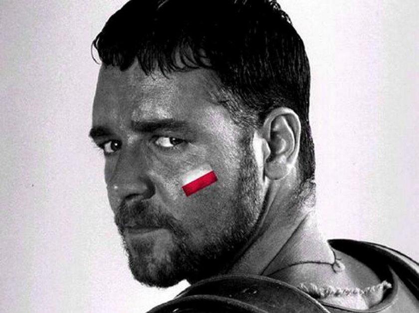 Russell Crowe znów zagrzewa naszych do walki