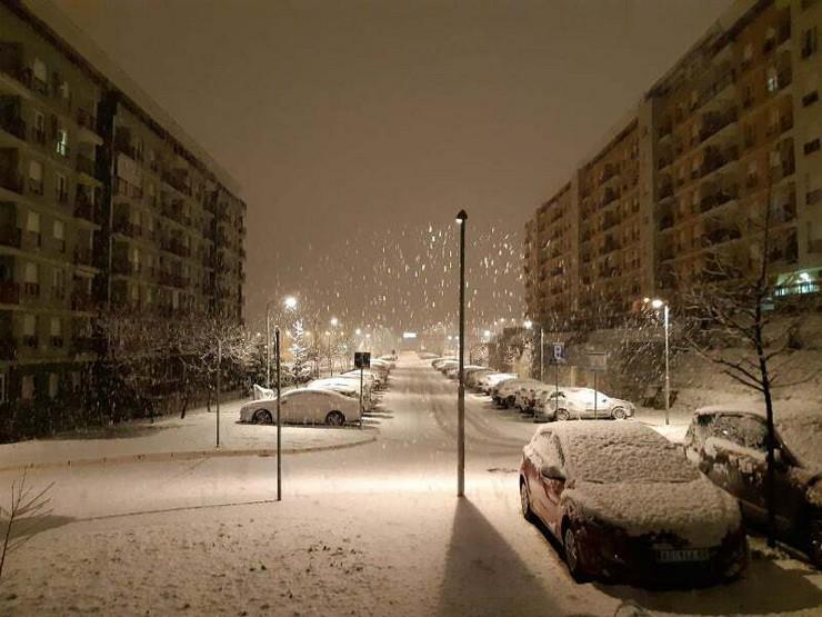 Sneg, Voždovac