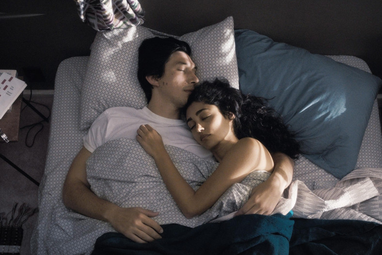 "Adam Driver i Golshifteh Farahani w filmie ""Paterson"""