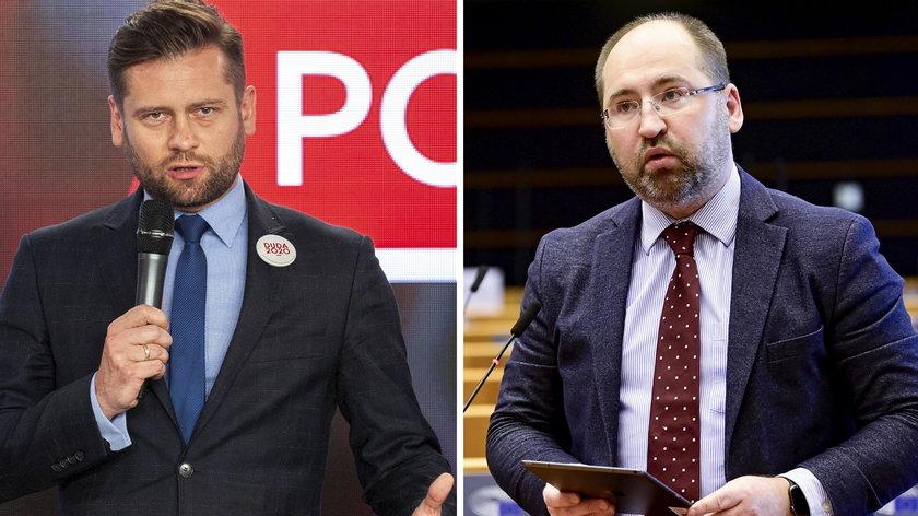 Kamil Bortniczuk i Adam Bielan